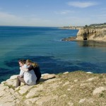 Barb and Wilder are photographed at the edge of Inspiration Point in Palos Verdes on 2/15/13.