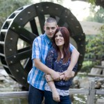 Breanna and Mark are photographed at Irvine Regional Park in Irvine, CA on 7/19/13.