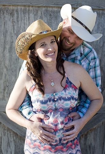 Mary and Steve are photographed at the Huntington Beach Equestrian Center in Huntington Beach, CA on 8/17/14.